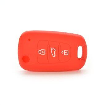 Harga Jetting Buy Car Key Case Cover Silicone For KIA Red