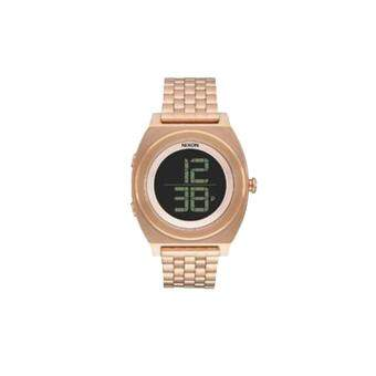 Harga Nixon Watch Time Teller Digi SS Rose Gold Stainless-Steel Case Stainless-Steel Bracelet Mens NWT + Warranty A948897