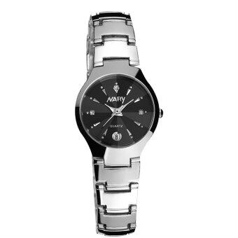 Harga New Arrival NARY 6112 Single Calendar Couple's Quartz Watch(black)