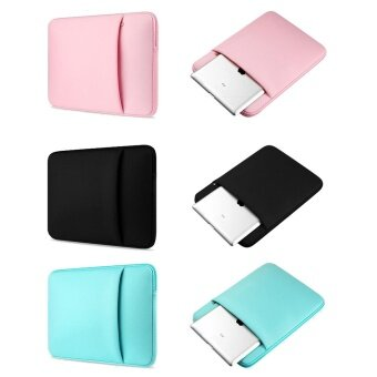 Jiaing 14 inches Colorful Laptop Case Protective Carring SleeveCover Waterproof Notebook Bag Waterproof Briecase for MacBookAir,Lenovo,HP,Samsung,Xiaomi,Acer (Pink) - 2