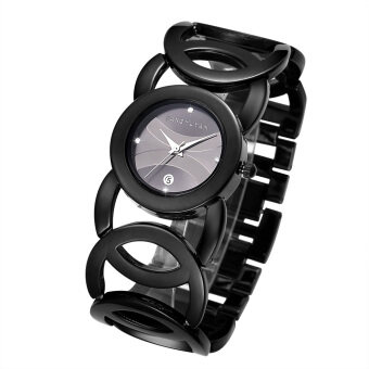 JIANGYUYAN Stylish Classic Bracelet Watch for Fashion Ladies(Black) - 2