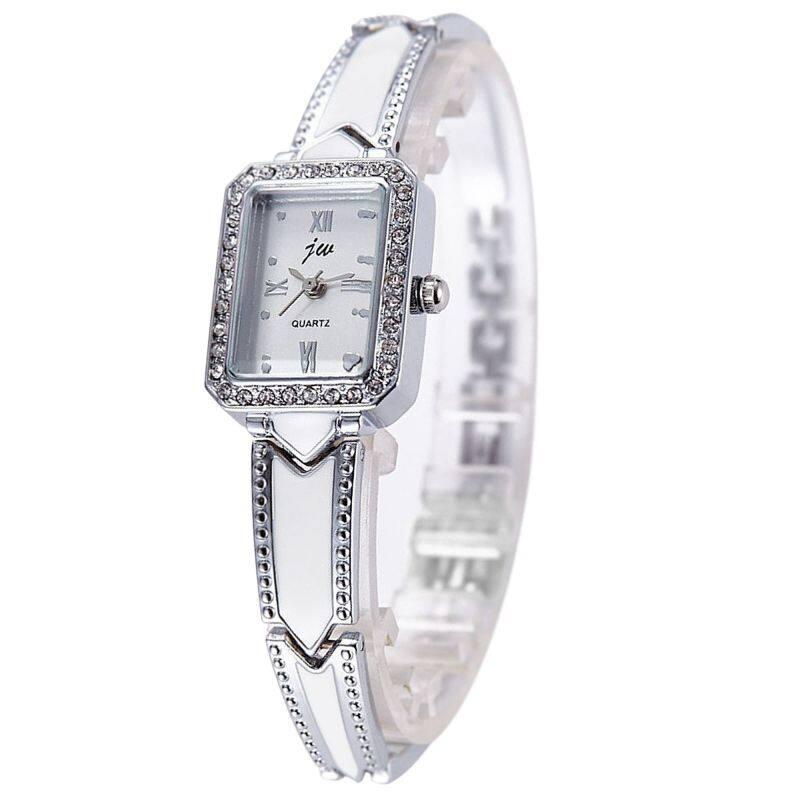 JW 8016 Woman Casual Bracelet Watch Silver Free Watch Box Malaysia