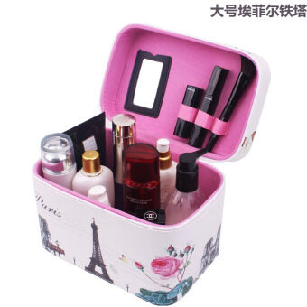 Large Capacity makeup bag Korean-style travel makeup products storage box portable vanity case travel wash storage box