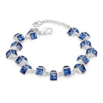 Latest Women Classy Design silver plated bracelet Factory DirectSale Bracelet fashion bracelet Charm Bracelet cicret bracelet forWomen