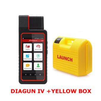 Harga Launch X431 Diagun IV Powerful Diagnostic Tool with yellow box with2 years Free Update