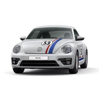 Limited Edition Volkswagen 'Herbie 53' Beetle (Silver) - Booking Fee Only