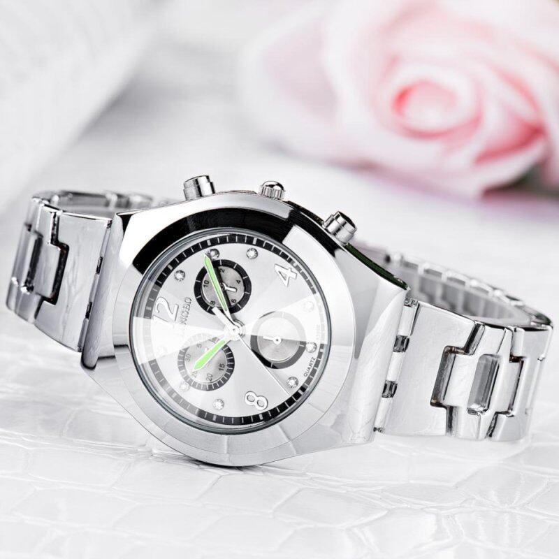 LONGBO Luxury Waterproof Women Ladies Alloy Strap Quartz Watch Wristwatch 8399 Malaysia