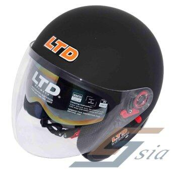 Harga LTD Infinity Double Visor Helmet (Matt Black)