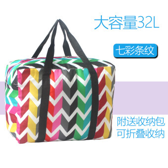 Luggage bag Korean-style Portable Bag waterproof folding-luggage bag clothing finishing bags Travel Pouch