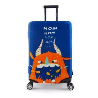 Harga Luggage Protector Cover Travel Suitcase Standard Handle - Monster -S size