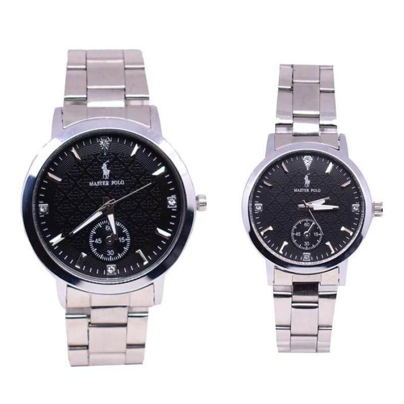 Master Polo Deluxe Couple Set Watch 2pcs (POLOSL-2930) Malaysia