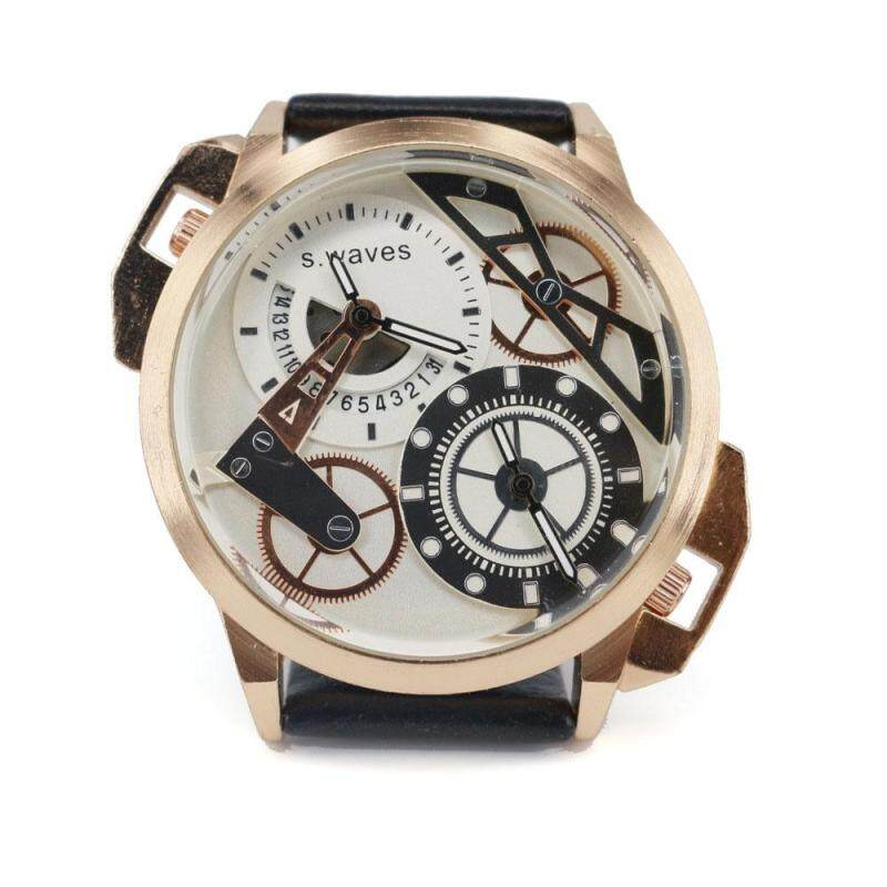 moob A couple of genuine quartz watch strip waterproof watch fashion personality quartz watch waterproof watch (White) Malaysia
