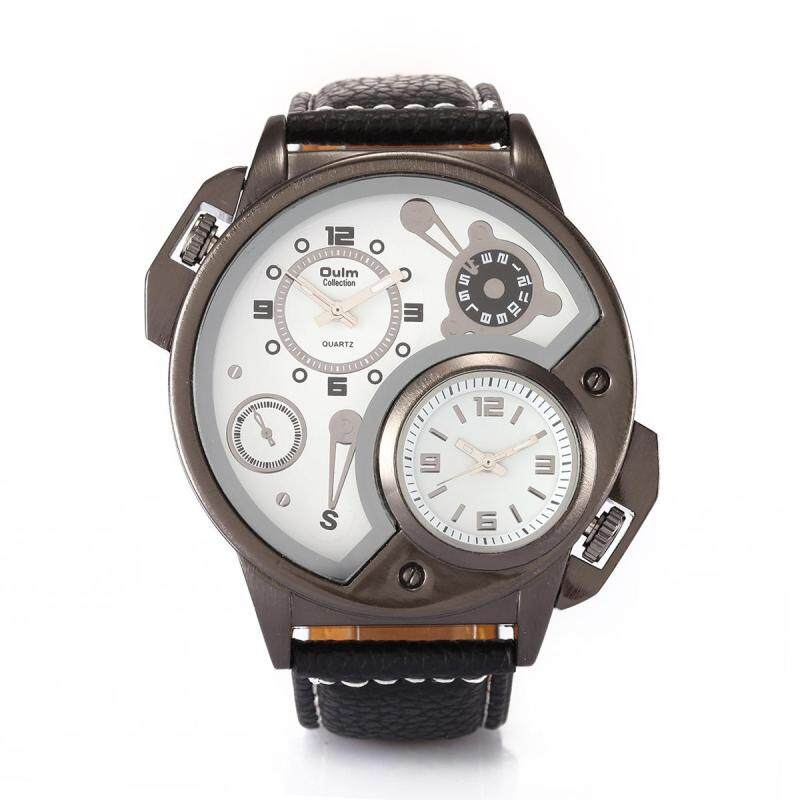 moob Europe radium factory wholesale fashion personality when foreign trade mens watch walked two new HP3578 2015 (white) Malaysia