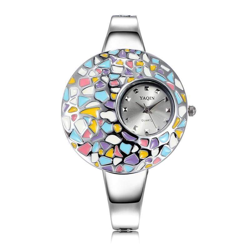 moob Yaqin authentic fashion watches Miss Bai Ling painted epoxy surface watches (Multicolor) Malaysia