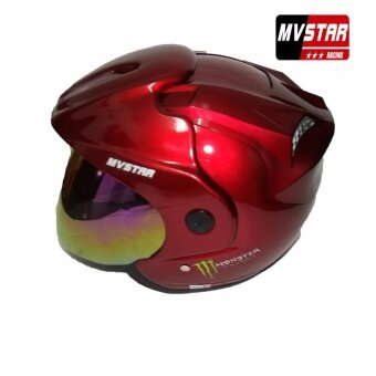 Harga MV STAR Rs1 Monster Helmet Stranded/ XL Size Rainbow Visor