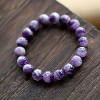 Natural amethyst bracelet fantasy amethyst bracelet crystal fashionjewelry