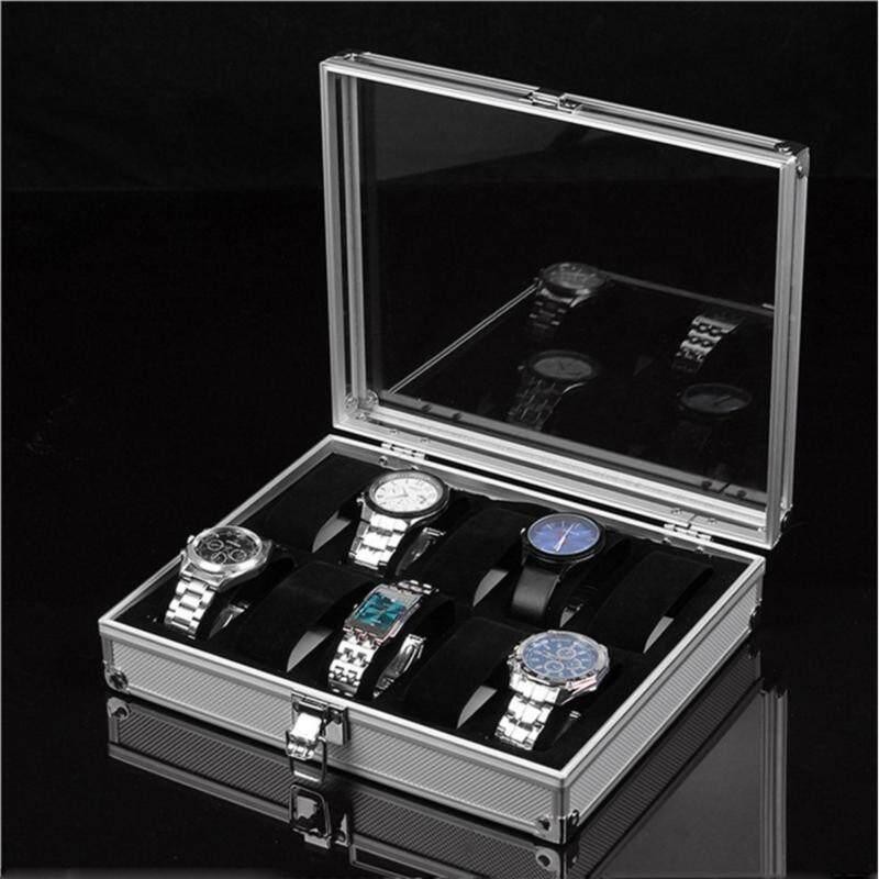 NEW! Aluminium Watch 12 Slot Case Storage Box Malaysia