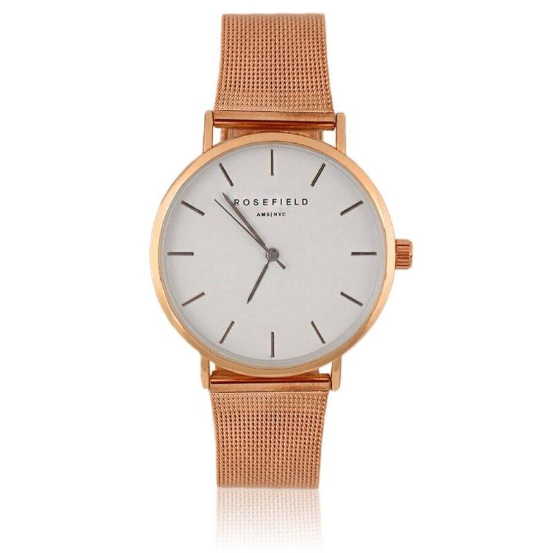 New ROSEFIELD Quartz Watches Popular Watch Women Casual Wristwatch New Malaysia