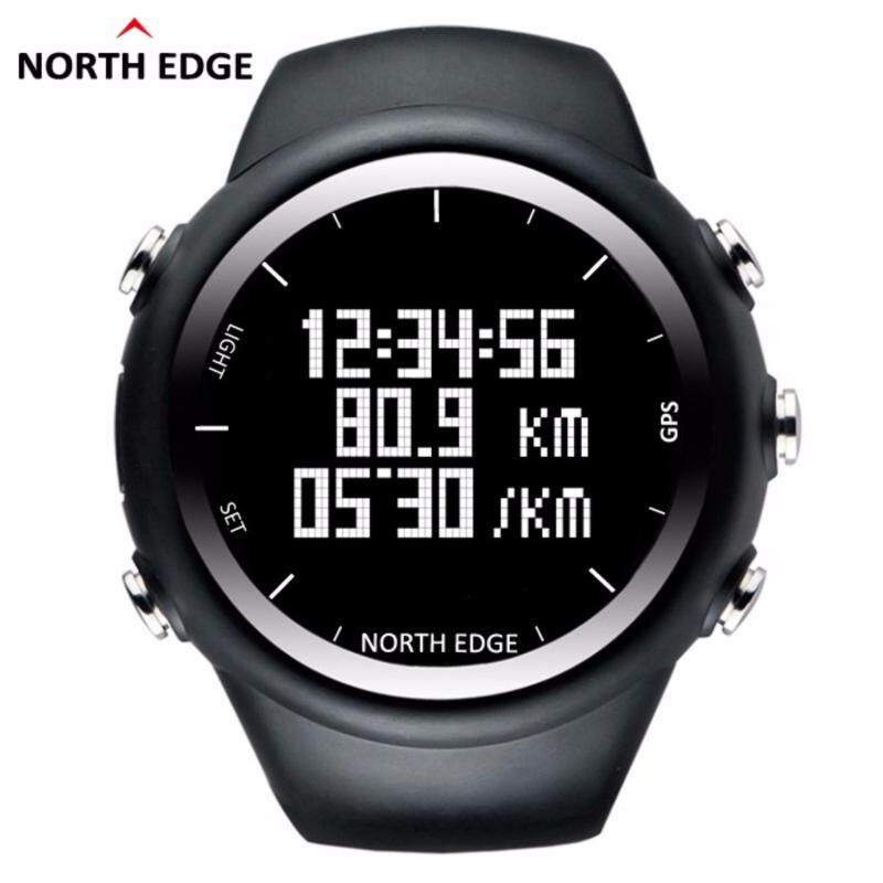 North Edge GPS Running Sports Digital Watch Men and Women Smart Watch for Swimming Diving Sailing Hiking Waterproof 5atm Distance Calories Malaysia
