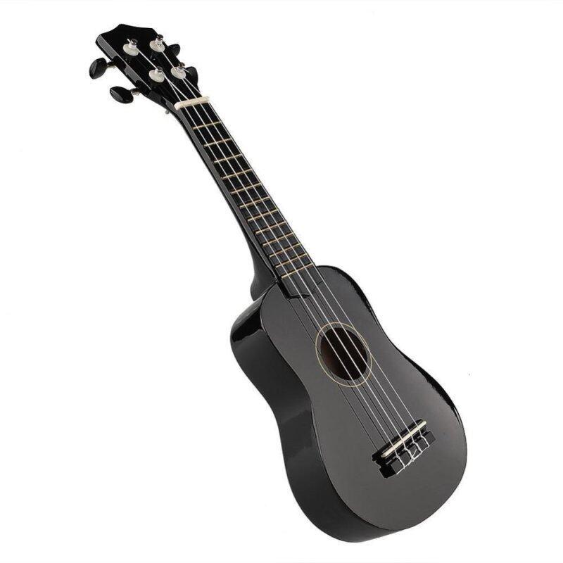 OEM 21 Acoustic Strings Ukulele (Black) Malaysia