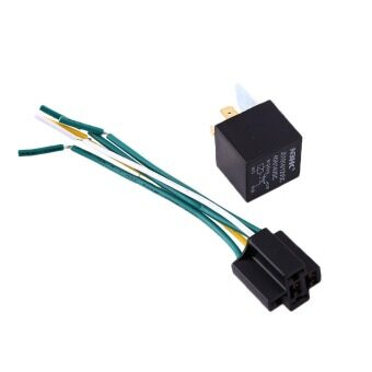 OEM Car 12V 30/40A Install 5 Pin Relay Changeover With HarnessSocket Cable