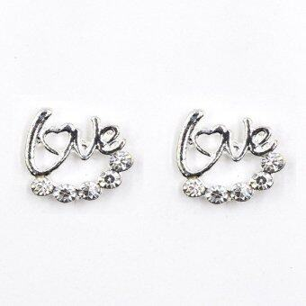 Harga ONLY Exquisite Pure Love Forever Stud Earrings