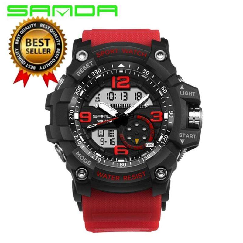 Original SANDA 759 G Style Military Waterproof Outdoor Sports Mens Shockproof Digital Watch Malaysia