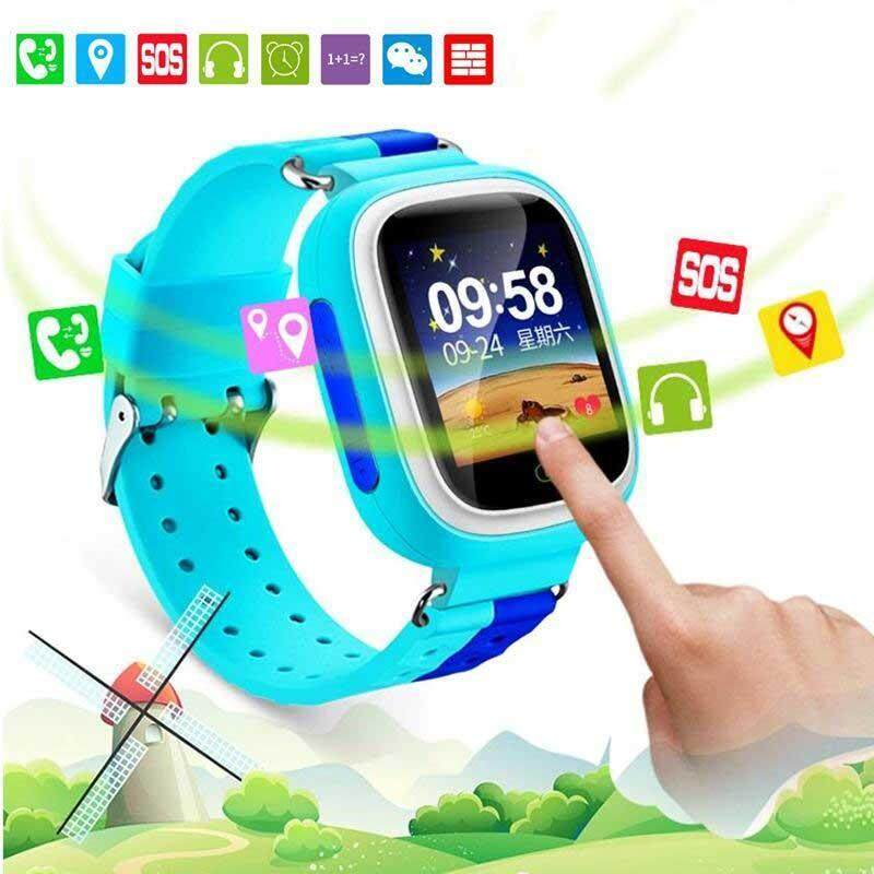 Oscar Store Q80 Smart Watches Phone Call Network Positioning Alarm Clock For Android iOS Malaysia