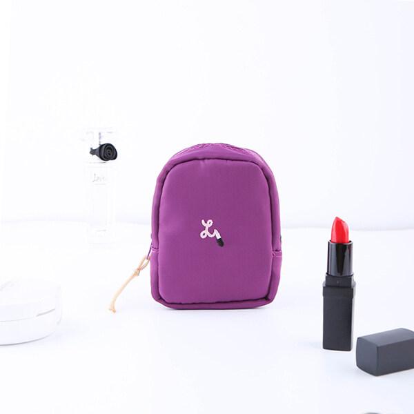 Em Baru Portabel Portabel Korea Tas Riasan Kecil Sederhana Lipstik Loosepowder Membuat Hingga Riasan Mini Korea