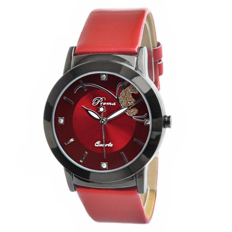 PREMA Premium Butterfly Fashion Watch- Red Malaysia
