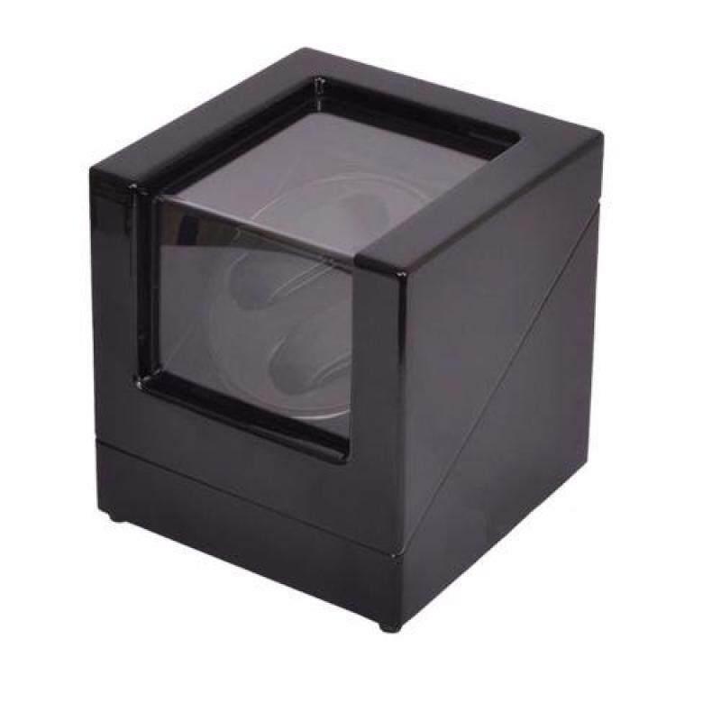 Premium Auto Watch Winder Automatic Rotate Watch Box 2 + 0 Black Black Malaysia
