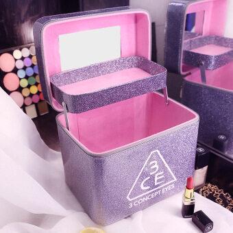Professional waterproof cosmetic bag large capacity portablecosmetics storage bag wash bag korean luxury portable cosmetic case