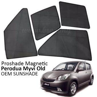 Proshade Magnetic Custom Fit OEM Sunshades/ Sun shades for PeroduaMyvi Old - 4pcs