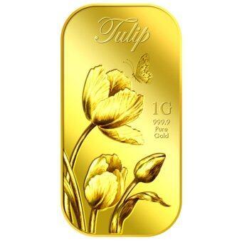 Puregold.sg 1g Tulip Gold Bar