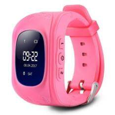 Q50 CHILDREN OLED DISPLAY GPS INTELLIGENT WATCH TELEPHONE (PINK), Pink (RUSSIAN VERSION) Malaysia