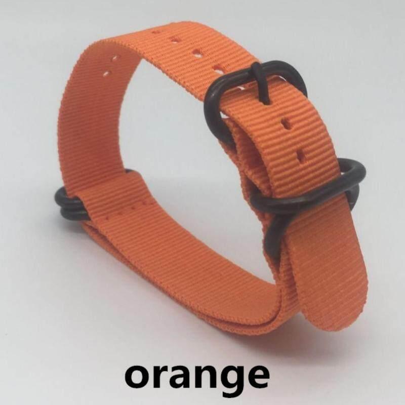 Quality 22mm Nylon Watch Band Strap Zulu NATO Strap 3.0 Buckle for Sport Wristwatch - Orange Malaysia