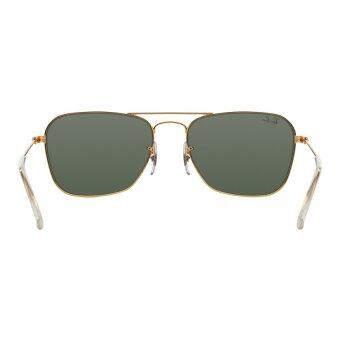 Ray-Ban Caravan Crystal Green Lenses RB3136 001 Arista Sunglasses[58] - 5