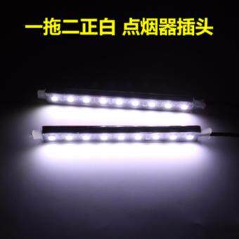 Harga [Ready Stock] [Clear Stock] 2017 LED Ambient Light Interior Light (White)