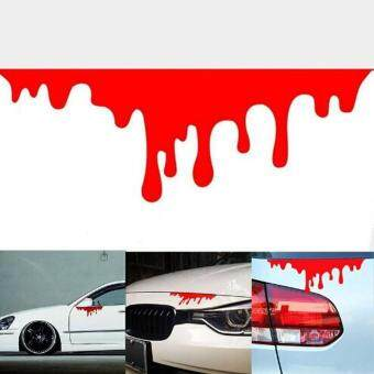 Sell Red Blood Car Stickers Reflective Car Decals Light ...