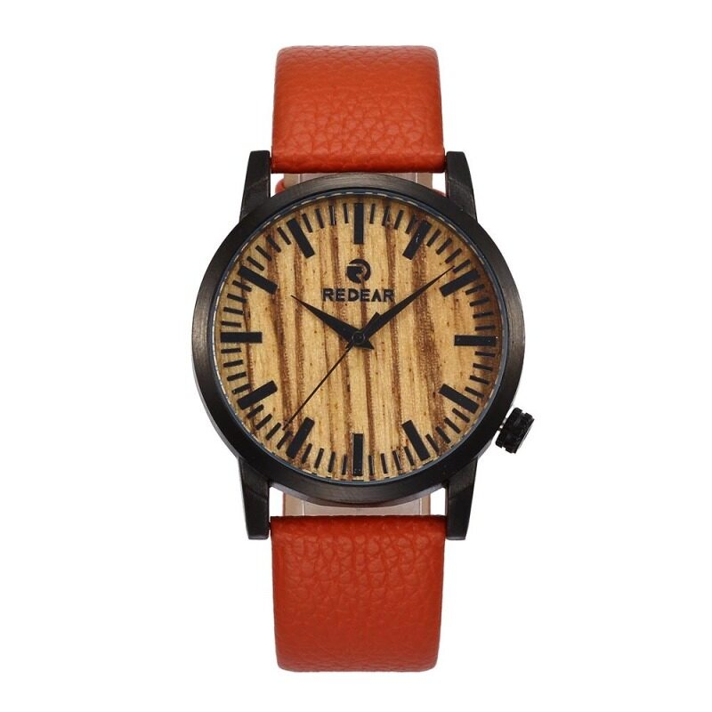 Redear new mens watches, zebra leather watches, quartz watches, cross border hot selling, male watches Malaysia
