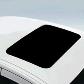Rorychen Black and Bright High-altitude Skylight Simulation Sunroof Roof Car Stickers