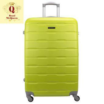 Harga Royal McQueen Hard Case 4 Wheels Spinner Light Weight 24 Luggage - QTH 6910 (GREEN)""