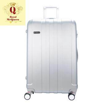 Harga Royal McQueen Hard Case Extra Light 8 Wheels 20 Luggage - QTH 6911 - SILVER""