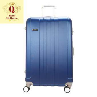 Harga Royal McQueen Hard Case Extra Light 8 Wheels 28 Luggage - QTH 6911 - BLUE ""