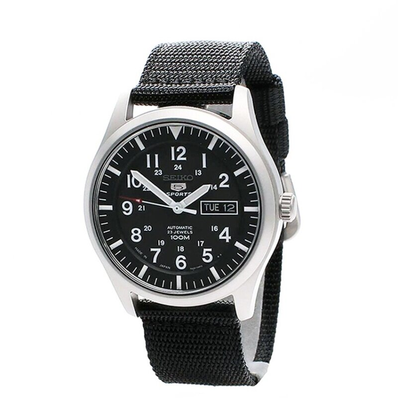 Seiko 5 SNZG15J1 Sports Automatic Watch (Made In Japan) Malaysia