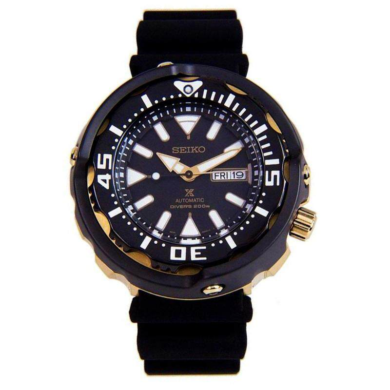 Seiko Watch Prospex Automatic Divers Black Stainless-Steel Case Silicone Strap Mens NWT + Warranty SRPA82K1 Malaysia