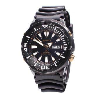 Seiko Watch Prospex Baby Tuna Black Stainless-Steel Case Rubber Strap Mens Japan NWT + Warranty SRP641K1