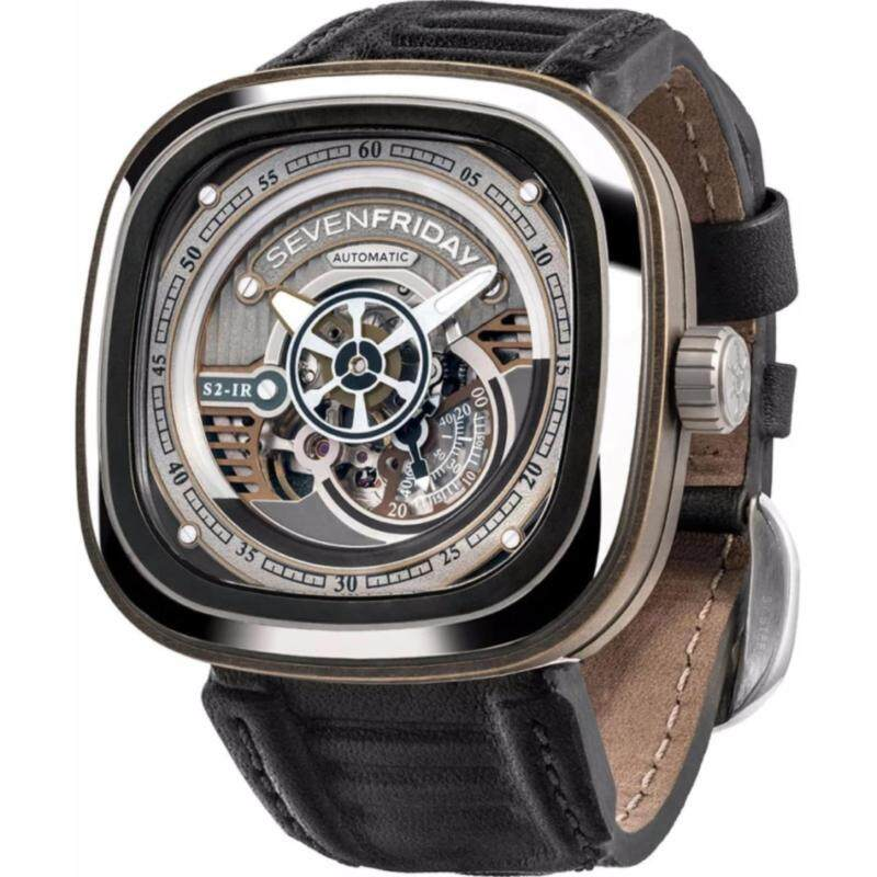 Seven Friday Automatic Mens Black Watch Malaysia
