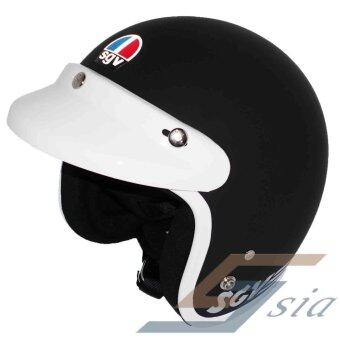 Harga SGV Trendy White Helmet (Matt Black)