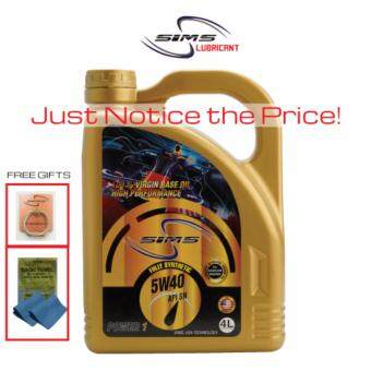 SIMS Lubricant Fully Synthetic 5W-40 API SN 4-Litre